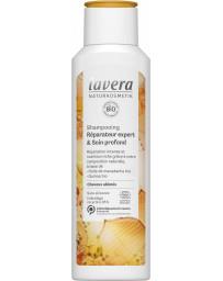 Shampoing réparateur expert et soin profond 250ml Lavera - soin pour les cheveux
