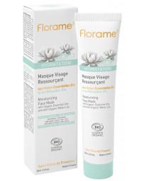 Florame Masque Visage Ressourçant hydratation bio 65 ml