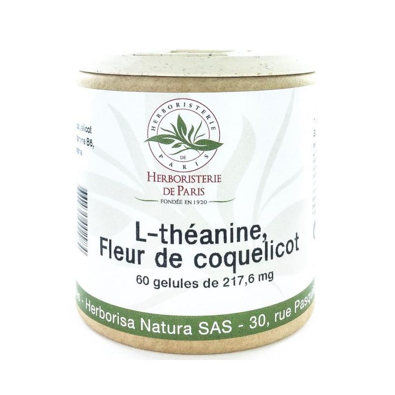 Herboristerie de Paris L théanine Coquelicot Vitamines B Mélatonine 60 Gélules morphée Pharma5avenue morphea