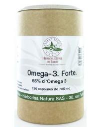 Herboristerie de Paris Omega 3 forte 65% 120 capsules de 705 mg