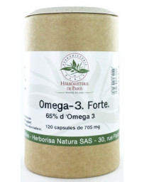 Herboristerie de Paris Omega 3 forte 65% 120 capsules de 705 mg EPA DHA Pharma5avenue