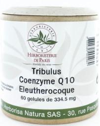 Herboristerie de Paris Tribulus Coenzyme Q10 Eleuthérocoque 60 Gélules virilité masculine Pharma5avenue