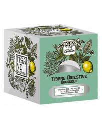 Provence D'Antan Tisane cube Digestive bio Recharge carton 24 sachets