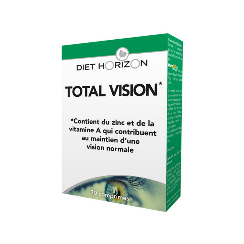 Diet Horizon Total Vision 30 comprimés Lutéine