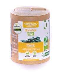 Nat et Form ECO Spiruline Bio 200 comprimés phycocyanine bleu vert Pharma5avenue