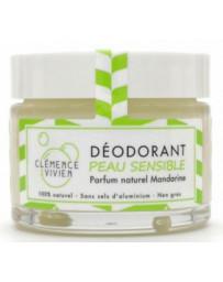 Clémence et Vivien Baume déodorant Peau sensible à la Mandarine 50gr déodorant naturel Pharma5avenue