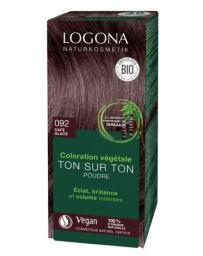 Logona Coloration végétale Ton sur Ton 092 poudre Café glacé 100g