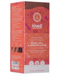 Khadi Coloration végétale Henné Amla et Jatropha cuivré 100 gr reflets cuivrés Pharma5avenue
