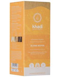 Khadi Coloration végétale Blond Moyen 100 gr cheveux blonds Pharma5avenue