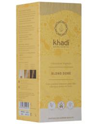 Khadi coloration végétale Blond doré 100gr reflets dorés teinture capillaire Pharma5avenue