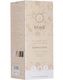 Khadi Coloration végétale Senna / Cassia Henné Naturel 100 gr henné neutre reflets dorés Pharma5avenue