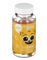 Nat et Form 9 Vitamines Junior plus 30 oursons enfant Pharma5avenue