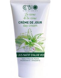 C'BIO Crème hydratante visage Gel Natif Aloe vera 50 ml peaux sensibles gel natif aloe vera Pharma5avenue