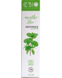C'Bio Dentifrice Fraicheur Menthe bio 75 ml
