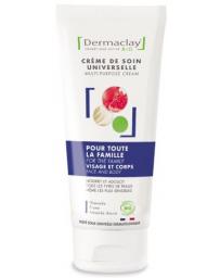 Dermaclay Crème de soin universelle Famille visage corps 100ml beurre de karité amande douce grenade Pharma5avenue