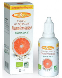 Nat et Form Extrait de pépins de pamplemousse 800mg 50 ml Pharma5avenue