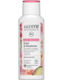 LAVERA Après Shampooing Eclat et souplesse 200 ml, soin capillaire bio pharma5avenue