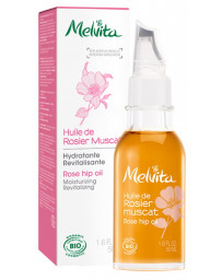 Melvita Huile de Rosier Muscat hydratante revitalisante 50 ml rose musquée du chili Pharma5avenue