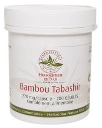 Herboristerie de Paris Bambou Tabashir silicium organique 200 gélules