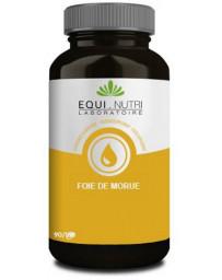 Equi Nutri Huile de foie de morue 60 gélules vitamines A et D Pharma5avenue