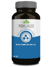 Equi Nutri No 44 complexe Manganèse Cuivre 60 gélules végétales