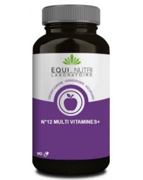 Equi Nutri No 12 Multi-Vitamines Plus Ginseng 90 gelules Pharma5avenue