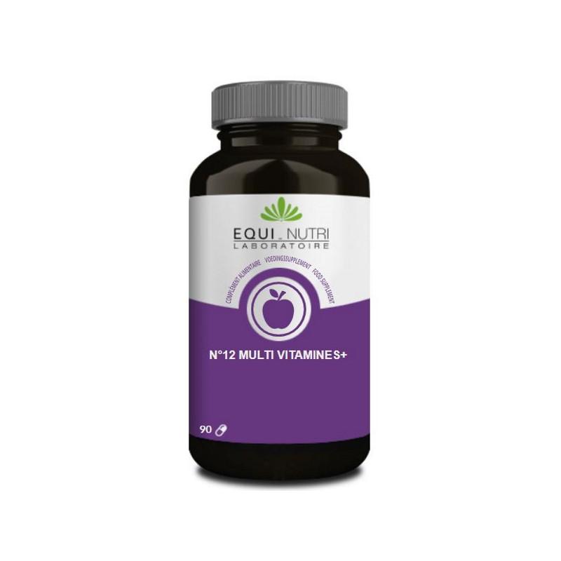 Equi Nutri No 12 Multi-Vitamines Plus Ginseng 90 gelules Pharma5avenue