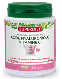 Super Diet Acide hyaluronique + vitamine C 150 gélules beauté Pharma5avenue
