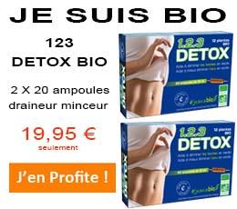 123 detox bio draineur minceur